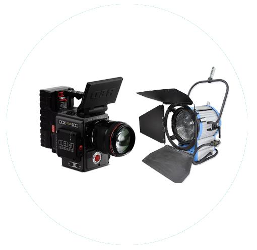 影视器材租赁   video equipment